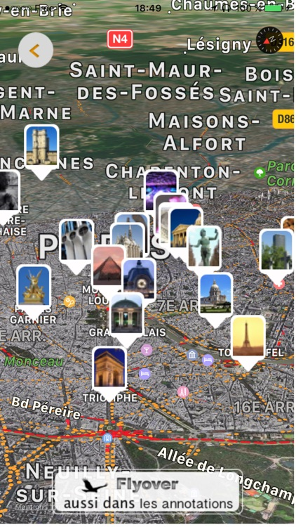 PARIS 3D Lite screenshot-3