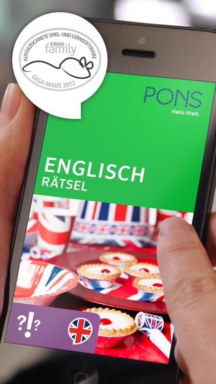 englisch rätsel von ponspons gmbh