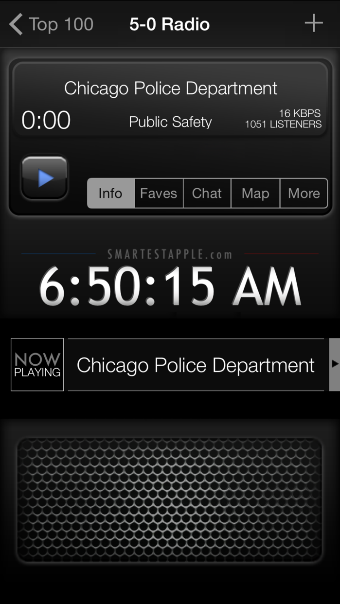 5-0 Radio Police Scanner Screenshot