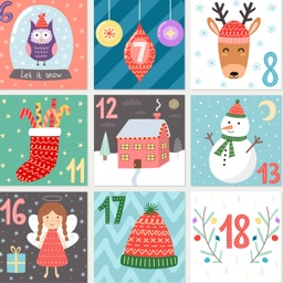 Advent Calendar & Xmas Sticker