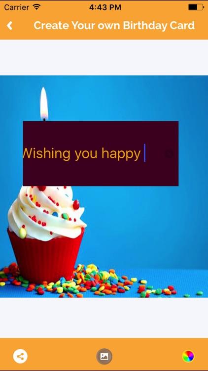 Happy Birthday Greetings Maker