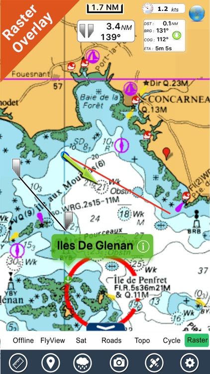 France Atlantic GPS Charts