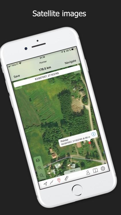 Topo maps - Finland screenshot-4