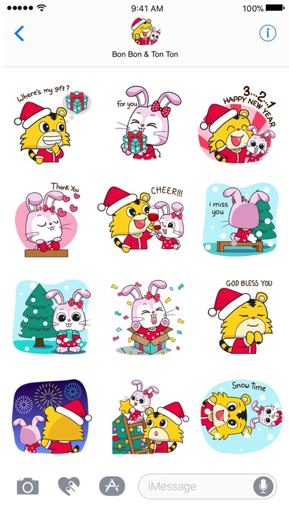 Xmas Time -Christmas Sticker