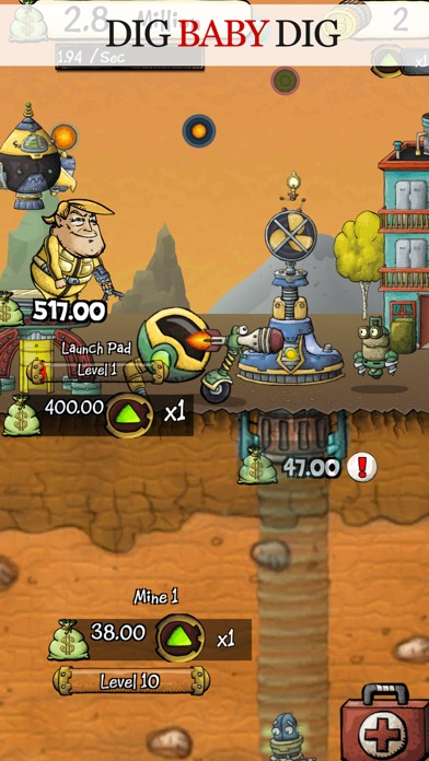 Digger I. Clicker screenshot one