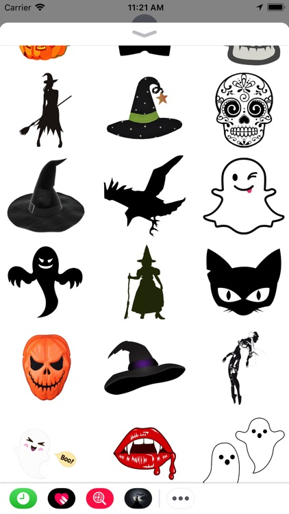 Mysterious Halloween Stickers