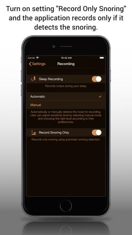Snore Control Lite screenshot-3