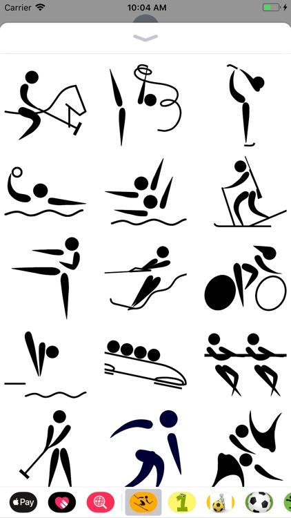 Sport Pictogram Sticker Pack screenshot-3