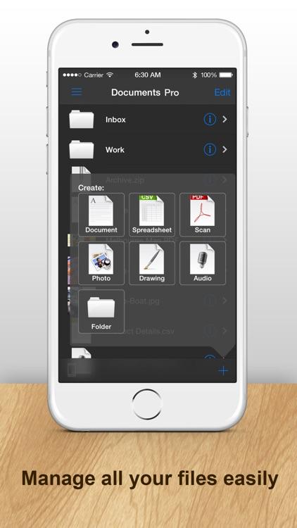 Documents Pro for Dropbox, Microsoft, Google Drive screenshot-3