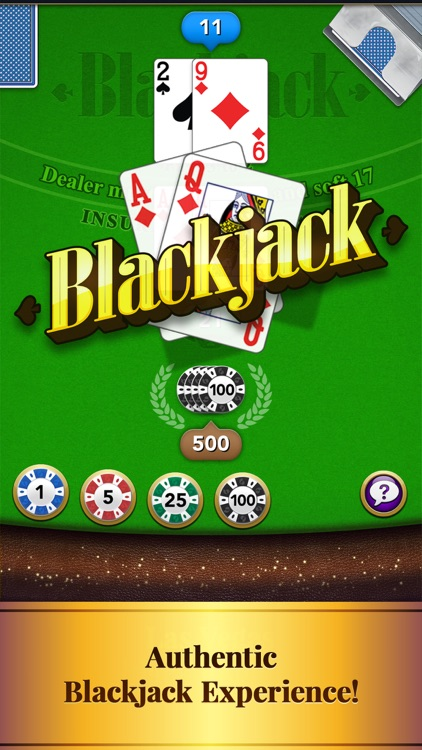 Blackjack – Casino Card Game screenshot-0