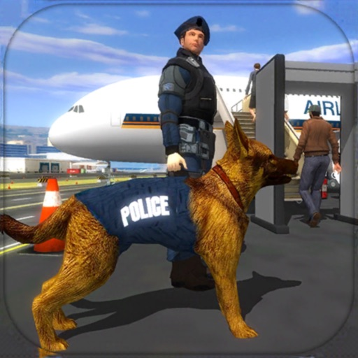 Police Dog Airport Crime Chase iOS App