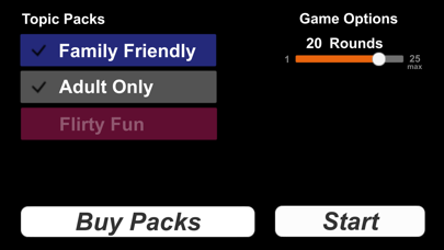 Quick And Dirty - Party Game screenshot two