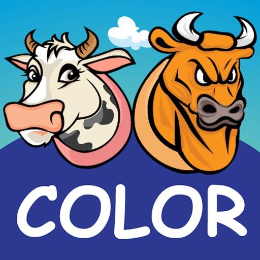 Cows & Bulls - Guess the Color