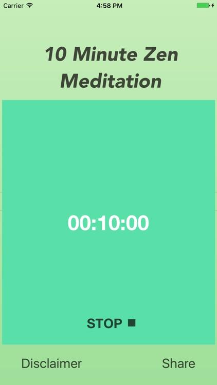 10 Minute Zen Meditation Free screenshot-3