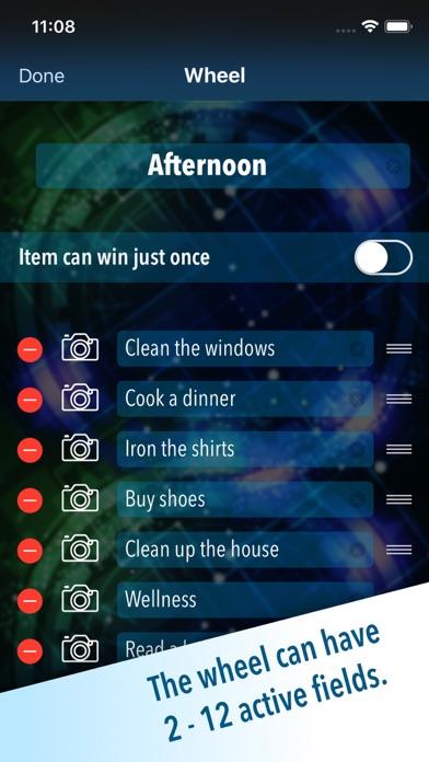 Wheel of Choice Plus screenshot 3