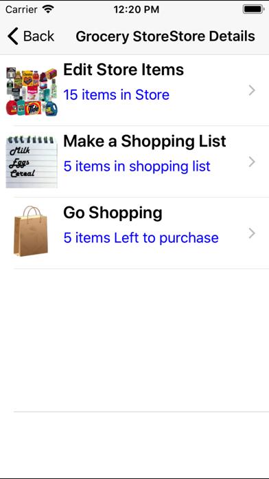 AccuShop screenshot one