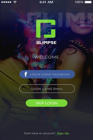 Glimpse Bar Finder - náhled