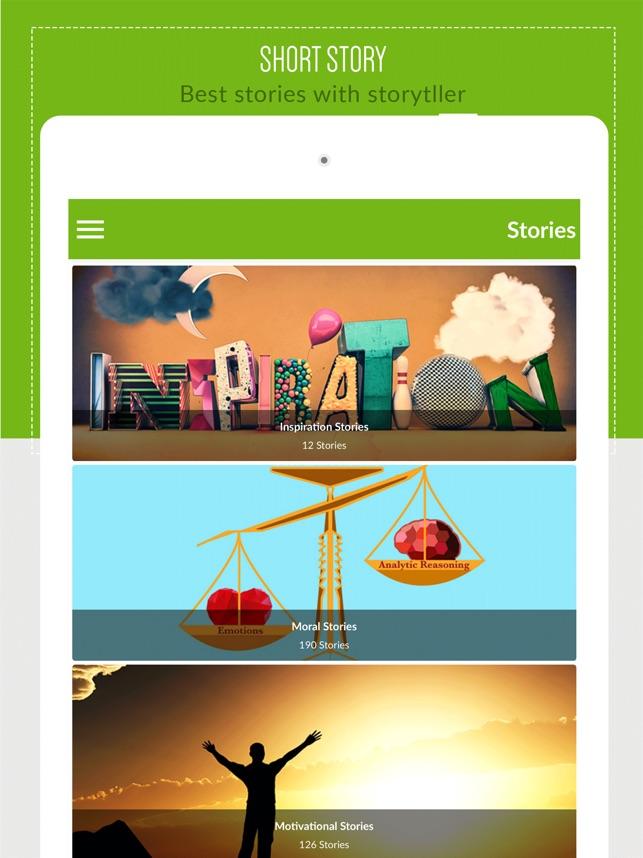 Short Story with storyteller on the App Store