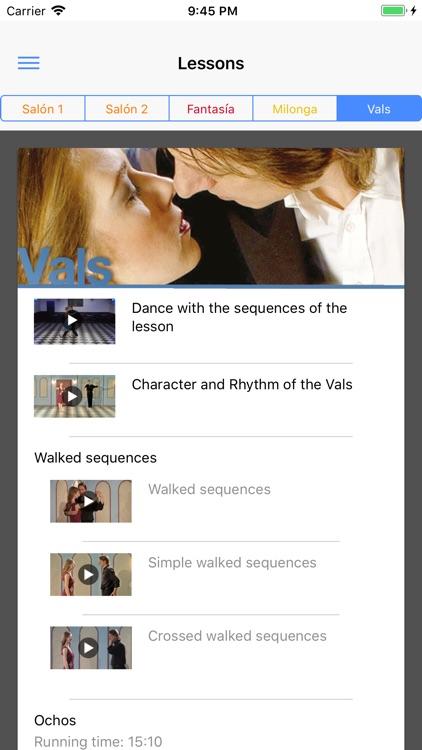 Tango curso screenshot-3