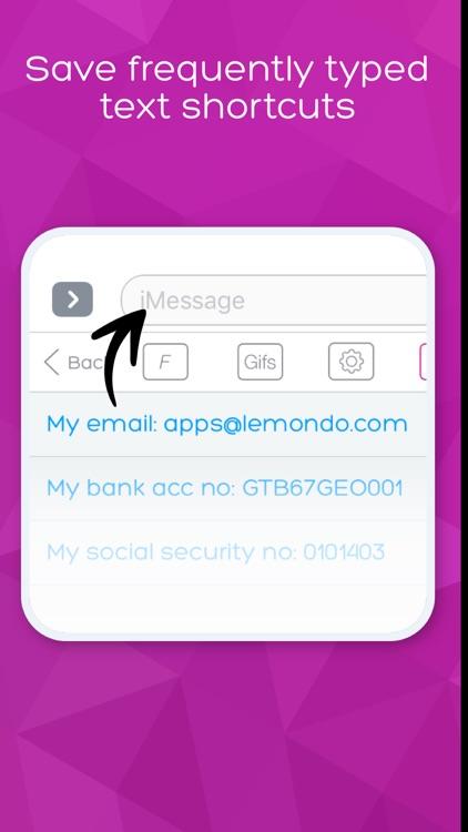 Keyboard Skins for iPhone screenshot-3
