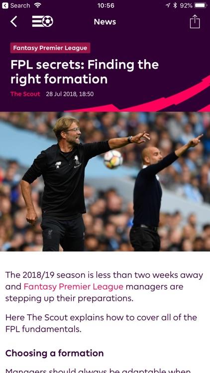 Premier League - Official App screenshot-5