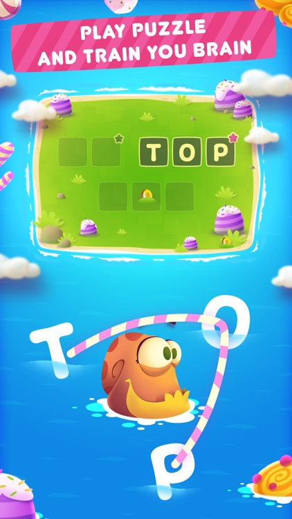 Candy Words Game screenshot-0