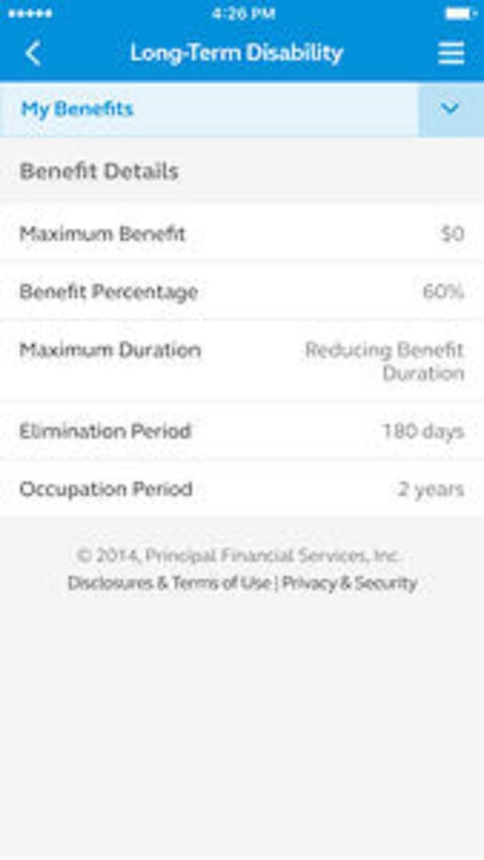 Principal® Mobile Screenshot