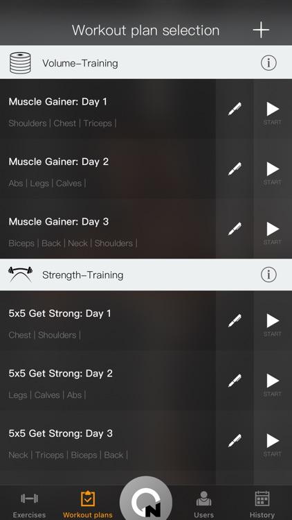 Gymnotize Pro Workout Routines