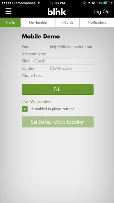 Blink Mobile review screenshots