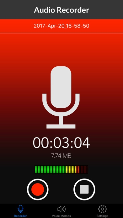 Voice Recorder & Audio Memos Preview 0