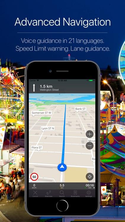Canada Offline Navigator screenshot-3