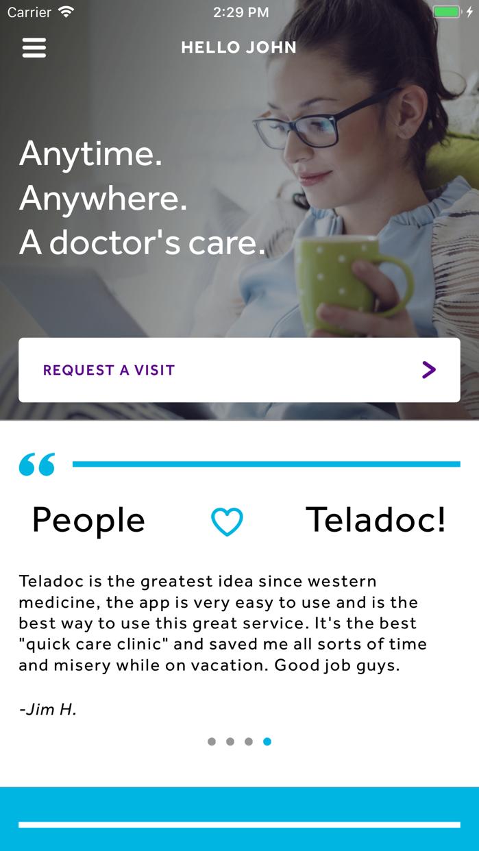 Teladoc Screenshot