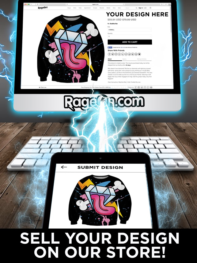 RageOn On The App Store
