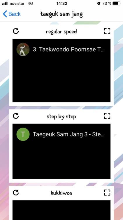Taekwondo Poomsaes NoAds screenshot-3