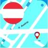 オーストリア オフライン地図