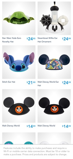 2fa2247d8ec Shop Disney Parks on the App Store