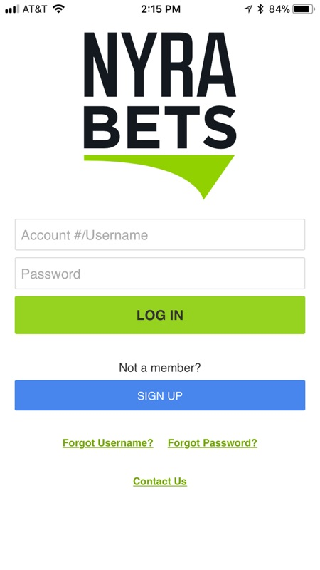 Nyra online betting account australian horse betting types