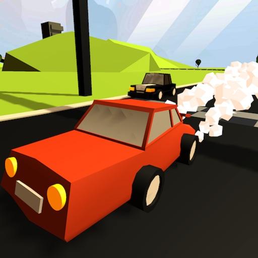 Tiny 3D Car Racing Chase Rider iOS App