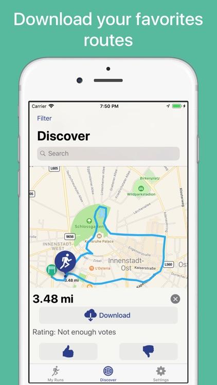 Runners Map screenshot-3