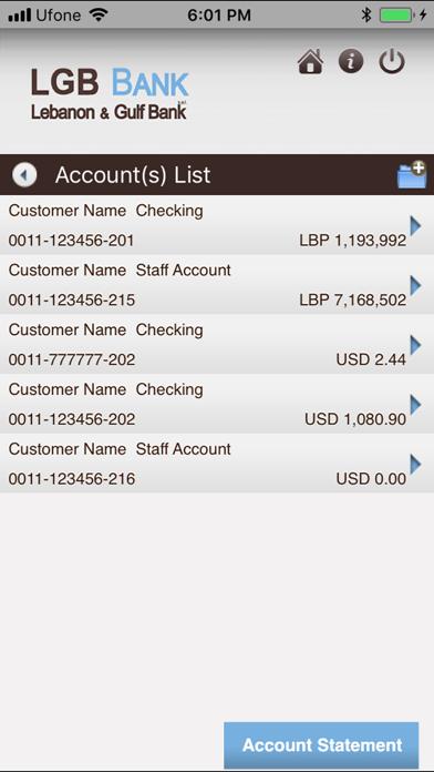 LGB Mobile Banking by Lebanon & Gulf Bank (iOS, United