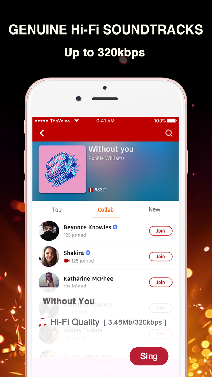 The Voice: Sing and Connect Screenshot