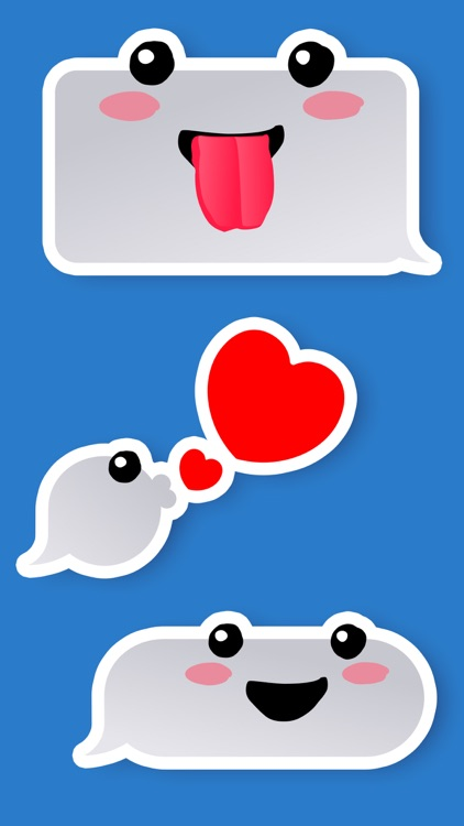 Fun Bubble iMessage Stickers screenshot-4