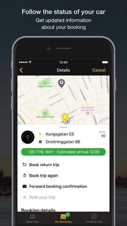 Taxi Sthlm screenshot-4