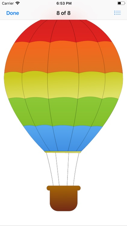 Lotsa Hot Air Balloon Stickers screenshot-8