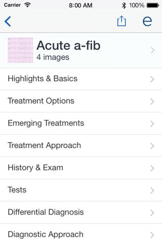 Epocrates Medical References screenshot 2