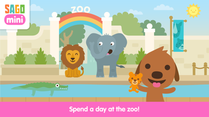 Sago Mini Zoo Screenshot 1