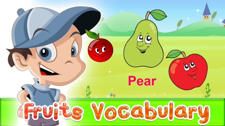 Fruits english vocabulary
