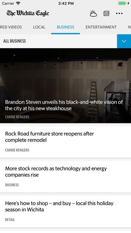 The Wichita Eagle News screenshot-4