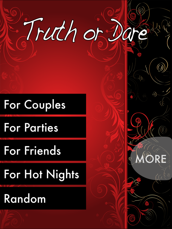 Screenshots of TRUTH or DARE - Hot Party Game (Sex Edition) for iPad
