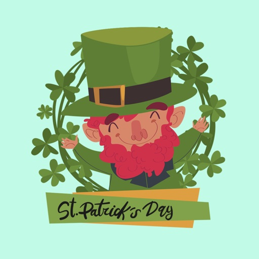St. Patrick's Day Wish Sticker